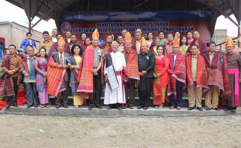 Pesta Jubileum 75 Tahun Gereja Katolik Pangururan