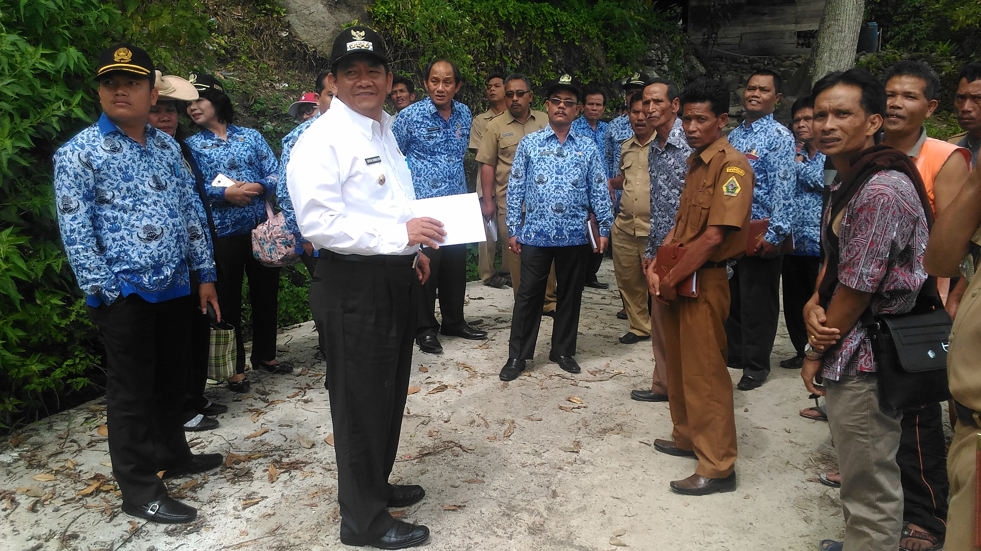 Bupati Samosir Monitoring Ke Desa