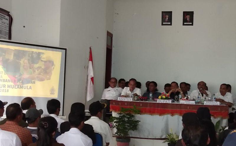 Musrenbang Kecamatan Sianjur Mula-mula (21/2)