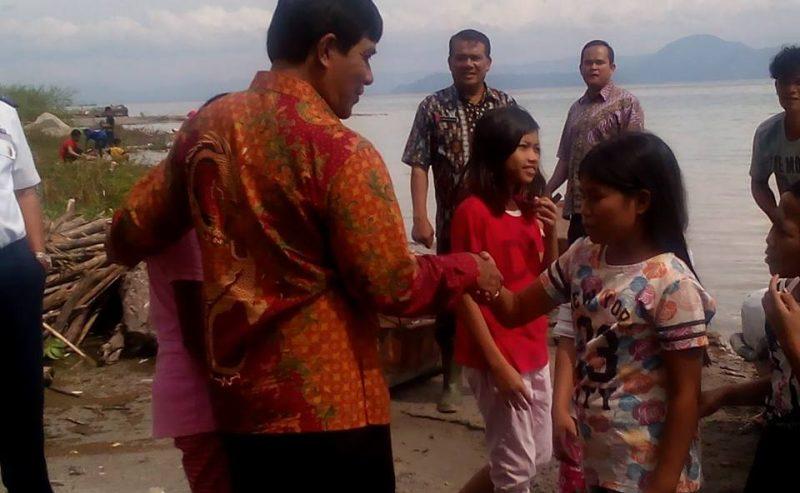 Wakil Bupati Samosir Melakukan Kunjungan Ke Pantai Indah Sipinggan (PIS) Nainggolan