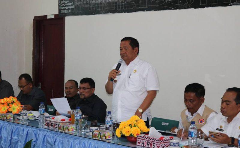 Musrenbang Kecamatan Nainggolan Diadakan Di Aula Kantor Camat Nainggolan