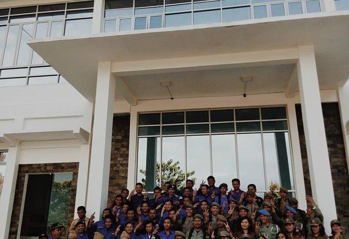 Peringatan Ulang Tahun SatpolPP, Damkar Dan Satlinmas Di Pimpin Oleh Bupati Samosir
