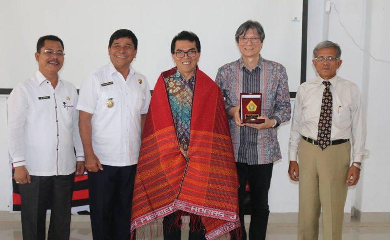 Rektor Universitas Parahiyangan Kunjungan Kerja Ke Geo Park Sigulati Samosir