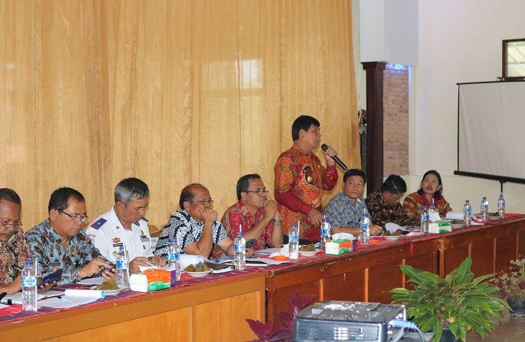 Wakil Bupati Samosir Juang Sinaga Membuka Musrenbang Kecamatan Onan Runggu