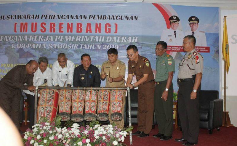 Musrenbang RKPD Kabupaten Samosir 2019 Di Gelar Dua Hari. ** Bupati : Peningkatan PAD Tahun 2017 Menjadi 72,2 Milyar Rupiah Tahun Sebelumnya 39,2 Milyar Rupiah.
