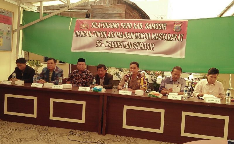 Silaturahmi FKPD Kabupaten Samosir Dengan Tokoh Agama Dan  Tokoh Masyarkat Se Kabupaten Samosir