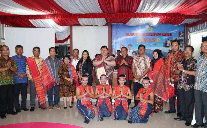 Deputi Bidang Reformasi Birokrasi, Akuntabilitas, Dan Pengawasan Kemenpan RB Kunjungan Kerja Ke Kabupaten Samosir