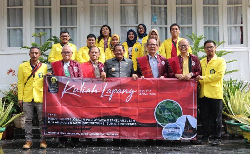Magister Ilmu Geografi UI Studi Lapangan Di Kabupaten Samosir