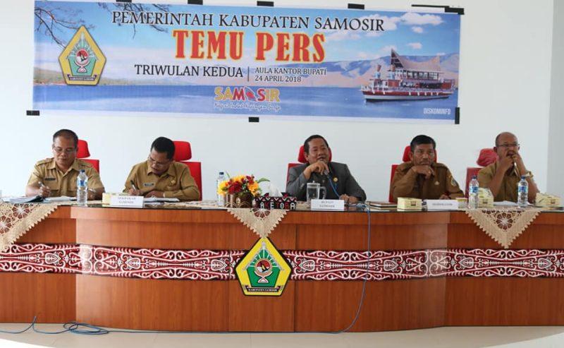 Temu Pers Di Kabupaten Samosir Berlangsung Akrab