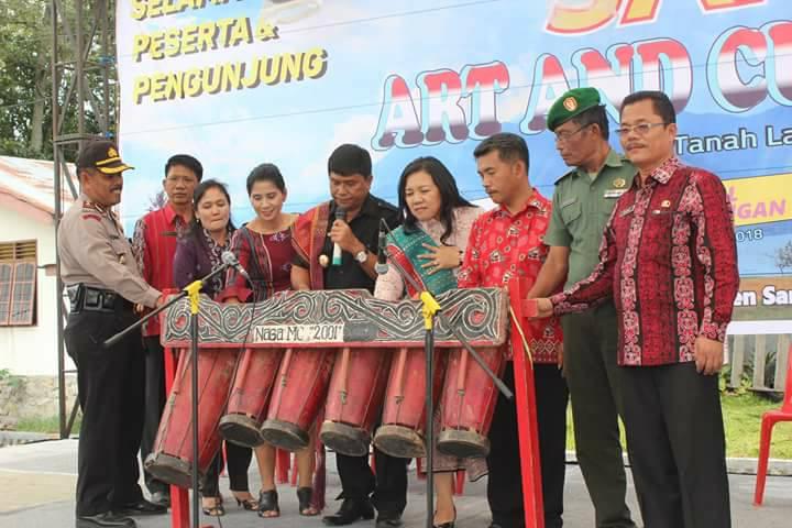 Samosir Art And Cultural Festival Tahun 2018 Digelar Selama 3 Hari  Wakil Bupati Samosir: Event Ini Harus Menjadi Ajang Potensi Bakat Seni Dan Budaya Masyarakat Samosir