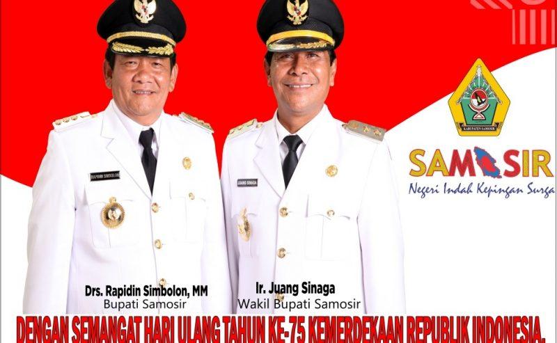 PERINGATAN DETIK-DETIK PROKLAMASI KEMERDEKAAN REPUBLIK INDONESIA TINGKAT KABUPATEN SAMOSIR