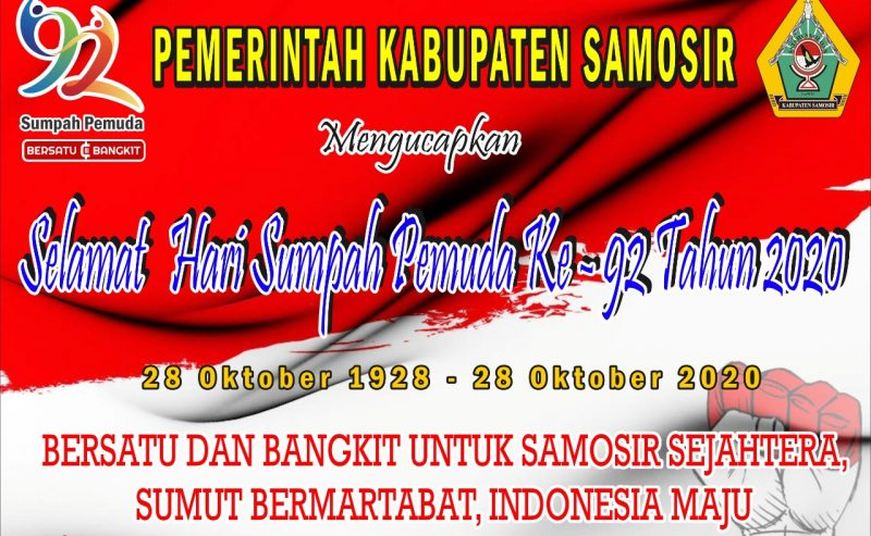 BERSATU DAN BANGKIT UNTUK SAMOSIR SEJAHTERA, SUMUT BERMARTABAT, INDONESIA MAJU